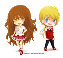 chibi com for chibilenalee by Toriichi