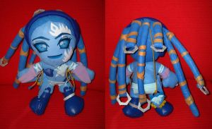 Shiva FFX plush version immy02 by Momoiro-Botan