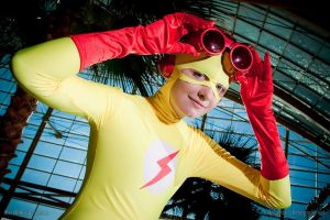 Kid Flash - Goggles by TobieJade
