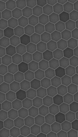 Rotated Grey Hexagonal Grid by chadparker42