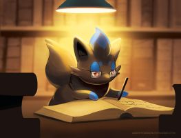 Chris the Zorua by arkeis-pokemon