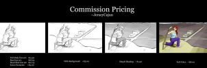 Commission Prices by jerseycajun