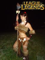 Nidalee Cosplay IV by Aleeusha