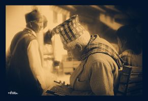 Old man by kingshrestha