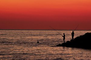 anglers by Notmeister