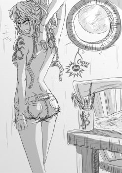 Nami - Now... that's what I call a good day's work by CherryInTheSun