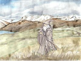 The Lord of the Rings: Gandalf by Prince-Thrakhath