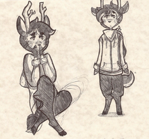 new oc sketches by tamad0ge