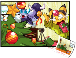 PKMNC - Wonderful Decorations by TamarinFrog