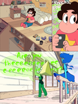 Peridot's outfit comic - part 1 by leo0125