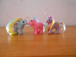 my little pony collection: baby rainbow ponies by theladyinred002