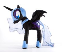 Nightmare Moon Plush by Eveningarwen
