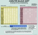 Balance Sheet: Horse Tails by RebeccaStapp