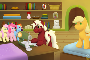 Commission: Making Plushies by Shrineheart