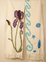 Two Felted Scarves 2 by FlyingFrogCreations