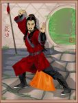 Kungfu Warrior by broom-rider