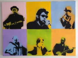 The Pogues by flyinnorsewhales