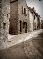 A street in Mayenne by April-Mo