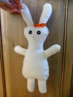 Stuffed Animal-Bunny 2 -Cream by Fiiress