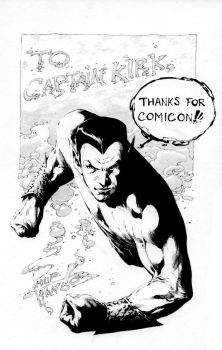 Namor sketch by butones