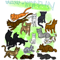 Warriors of WindClan by Iceity