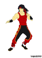 Liu Kang W.I.P. by flawless31490