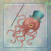 Mr Octopus by CheshireSpider