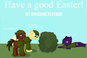 Happy Easter by FirstAwesomePlatoon
