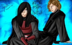 Anakin and Revan by DarkJediPrincess