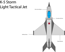 IRS K-5 Light Tactical Jet by Target21