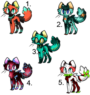 Foxes Adoptables :open: Auction by KitsuneHebi