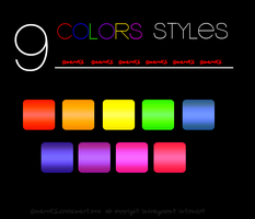 9 Colors Styles by GnaroKS