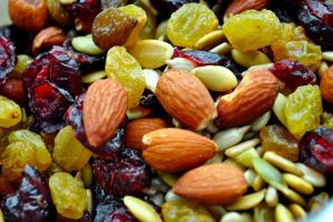 Dried fruits and nuts by fosspathei