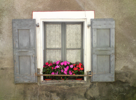 Old French Window by blOntj