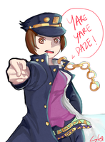Yare Yare by ShiroGinko