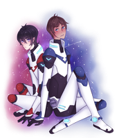 .:Klance:. Space Gays ! by KitenChan