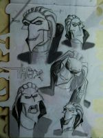 varied and expressive Thrax by JennIncane