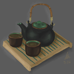 Tea Study by AshenLights
