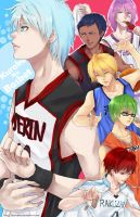 Kuroko No Basket: GOM by darkshia