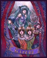 Vocaloids Dark Woods Circus by Chama