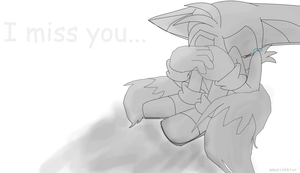 'I Miss You...'-Tails by Amypinkblur