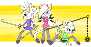 The Chung Pow Kitties! by D-Stro