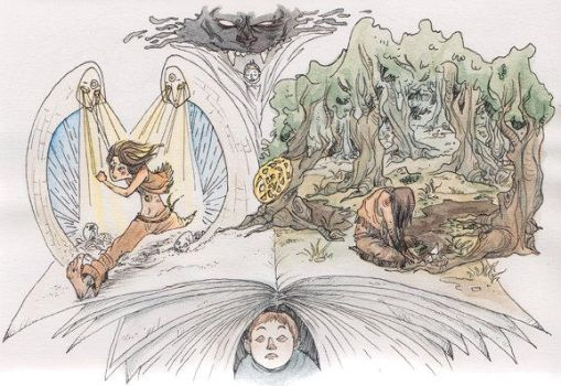 The NeverEnding Story Fanart by GhostFrog