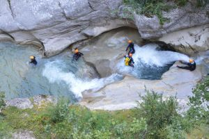 Canyoning for birthday of Charles by A1Z2E3R