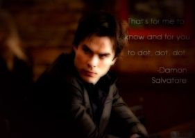 The Vampire Diaries-Damon by DarkShadow043