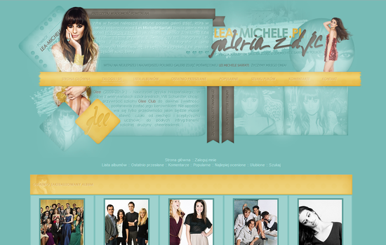 Full Theme for Lea-Michele.pl Gallery by infrutescence
