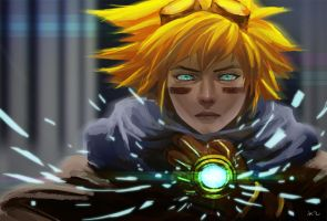 ezreal by chalii