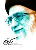 Imam khamenei by Aheney