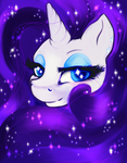 Sparkly Rarity by Lethiel