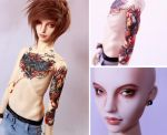 Tattoo Iplehouse carina boy by SoftPoison